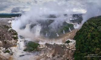 3D-панорама водоспадів ігуасу