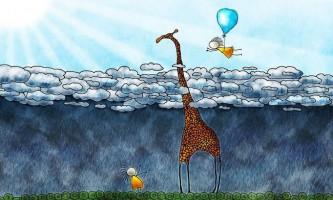 Велике зростання жирафів заважає швидкості реакції
