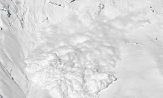 Cход снігових лавин у фотографіях