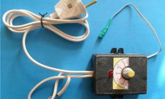 Робимо терморегулятор для інкубатора своїми руками