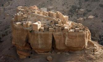 Село, яка повністю побудована на камені