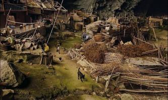 Село в печері