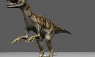 Динозавр дейнонихус «страшний кіготь»