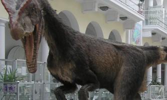 Динозавр дилофозавр