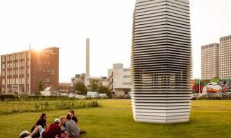Дизайнер з голландії створив стильні повітроочисні вежі