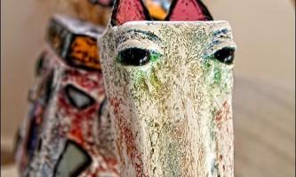 Дмитро кравцов і його скульптури тварин