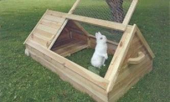 Будиночок для кроликів