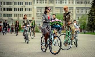 Їзда на велосипеді виявилася корисною навіть в найзабрудненіших містах