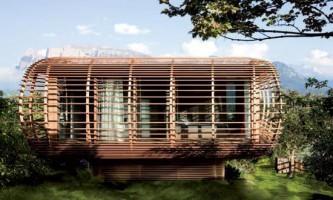 Fincube - переносний будинок з живленням від сонячної енергії