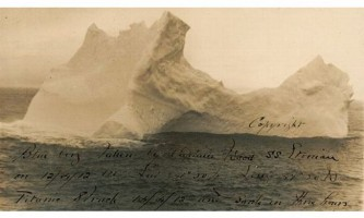 Фотографія айсберга, який потопив титаник, виставляється на аукціон в сша