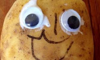 Фотографію картоплі продали за мільйон євро