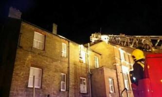 Голуб ледь не спалив багатоповерховий будинок на околиці лондона