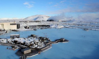 Блакитна лагуна (blue lagoon) в ісландії