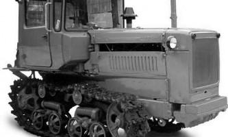 Гусеничний трактор дт-75