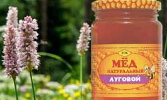 Характеристики, корисні властивості і протипоказання лугового меду