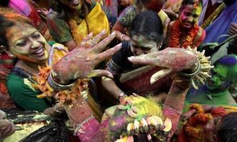 Холі, або пхагвах - індуїстський фестиваль весни