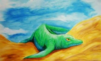 В китаї знайдені останки першого земноводного іхтіозавра