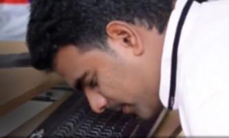 Індієць встановив рекорд, надрукувавши текст носом за 47 секунд