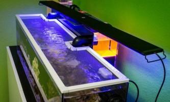 Виготовляємо кришку для акваріума з підсвічуванням