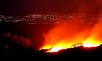 Виверження вулкана етно