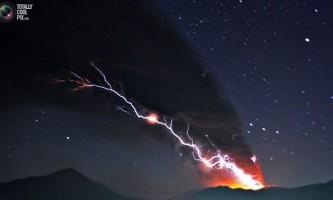 Виверження вулкана сінмое