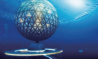 Японська компанія побудує підводне місто atlantis