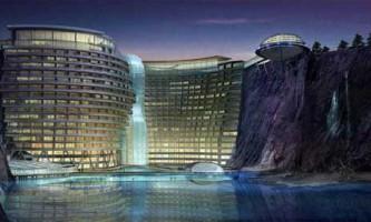 Екоархітектури: waterworld - готель водний світ