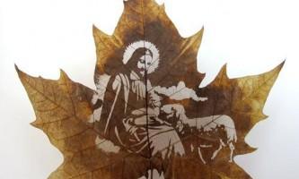 Ювелірна різьблення по листю