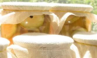 Кабачки з кетчупом чилі
