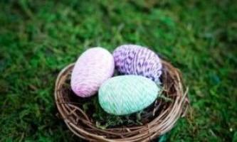 Як красиво фарбувати яйця на великдень, просто і ефектно