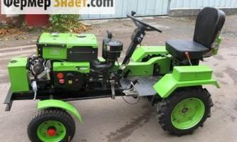 Як переобладнати мотоблок в міні-трактор
