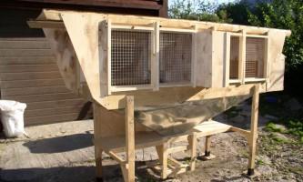 Як зробити клітку для кроликів?