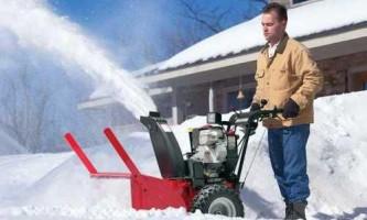 Як вибрати снігоприбирач