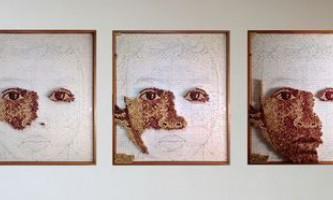 Картини з винних пробок від скотт гандерсен (scott gundersen)