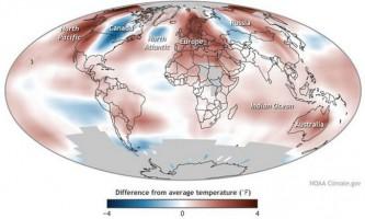 Кліматологи визначили самий жаркий рік сучасності