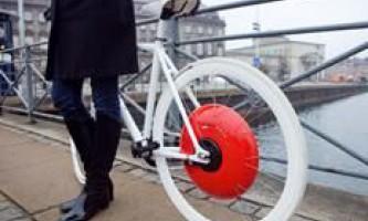 Колесо-копенгаген зробить гібридом будь-який велосипед