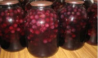 Компот з винограду кращі рецепти