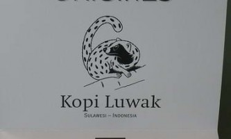Kopi luwak - кава плюс маленька тварина