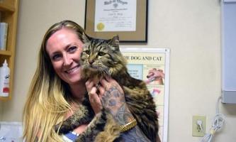 Кіт з орегона потрапив в книгу гіннеса як найстаріший кіт на планеті