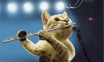 Коти-музиканти в календарі musical moggs 2012