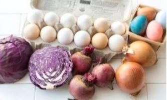 Барвники для крашанок з натуральних продуктів