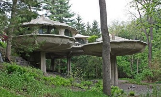 Креативний будинок-гриб джеймса джонсона