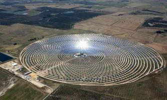 Цілодобова сонячна електростанція gemasolar