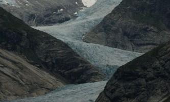 Льодовик нігардсбреен (nigardsbreen) в норвегії
