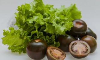 Кращі сорти чорних томатів