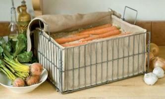 Кращі способи зберігання моркви на зиму