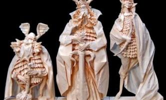 Скульптури орігамі від eric joisel