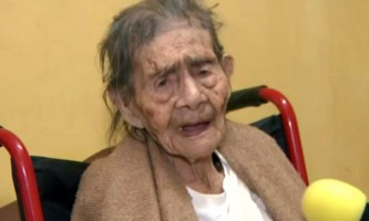 Мексиканка леанарда бекерра лумбрерас відзначила своє 127-річчя