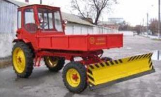 Модернізація трактора т-16 (частина 1)