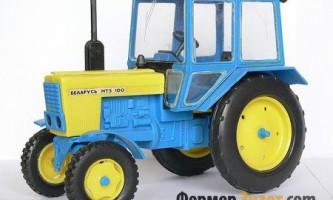 Мтз-100: класичний приклад універсальної сільськогосподарської техніки